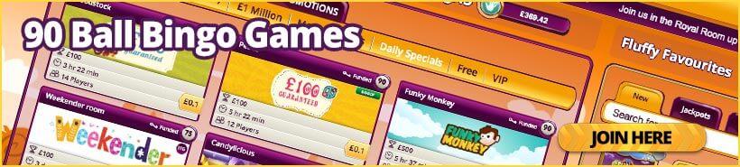 90 Ball Bingo Games