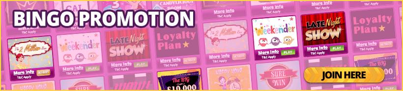 Bingo Promotions – A List of Bingo Promotions